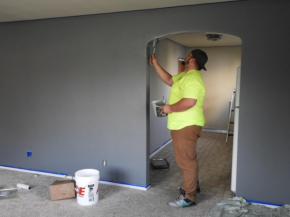 Pintar el interior de la vivienda