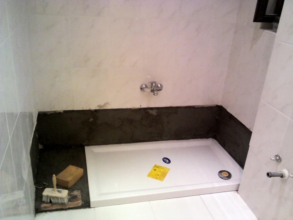 Cambiar bañera por ducha en Barcelona reforma baño