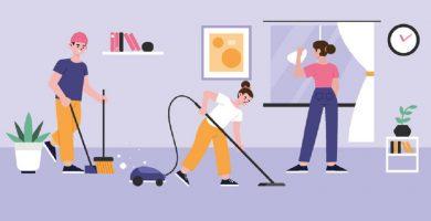 Limpieza de vivienda en Madrid
