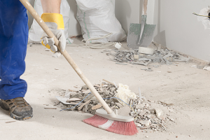 Limpieza de obra en Madrid