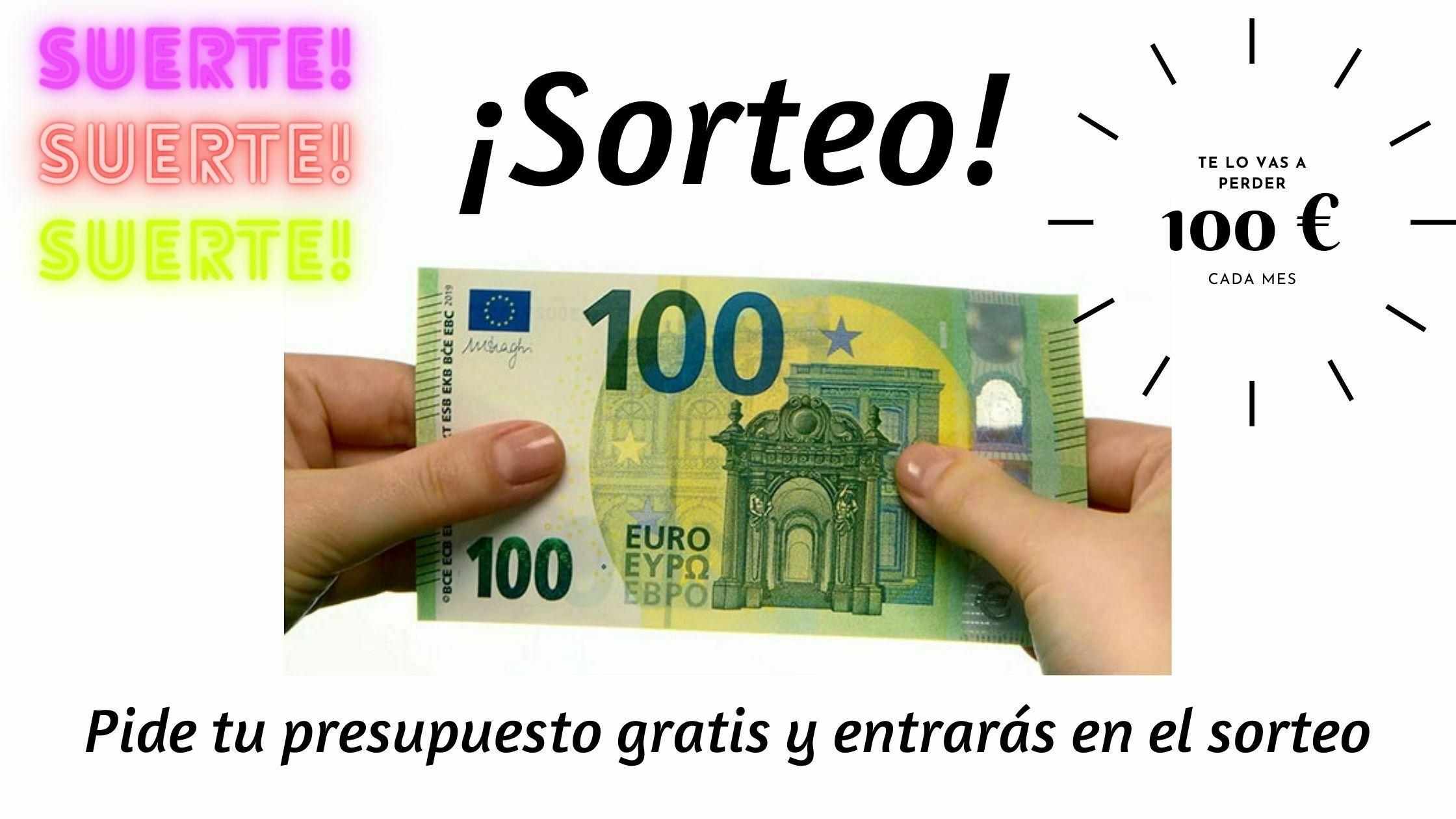 sorteo de 100 euros