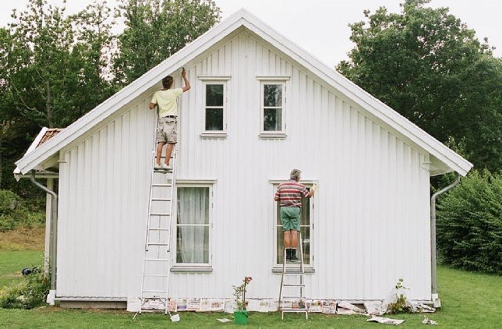 reformas en Mallorca Pintando casa pintar casa precio fachada